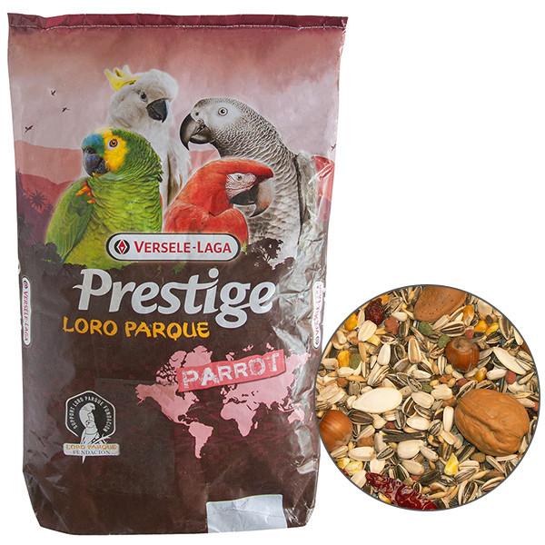 Корм для крупных попугаев Versele-Laga Prestige Loro Parque Ara Parrot Mix 15 кг