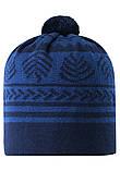 Демисезонная шапка-бини для мальчика Reima Leimu 538073-6981. Размеры 48/50 и 56/58., фото 3