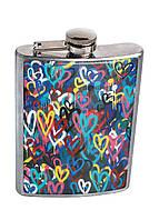 Фляга DevayS Maker DM 01 Разноцветные сердца 26-08-465, КОД: 1238977