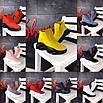 18 моделек! Замш и кожа! Стильные демисезонные ботинки женские натуральные, фото 2
