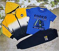 Спортивный костюм на мальчика 6 лет, 10 лет Setty koop (RO2842)