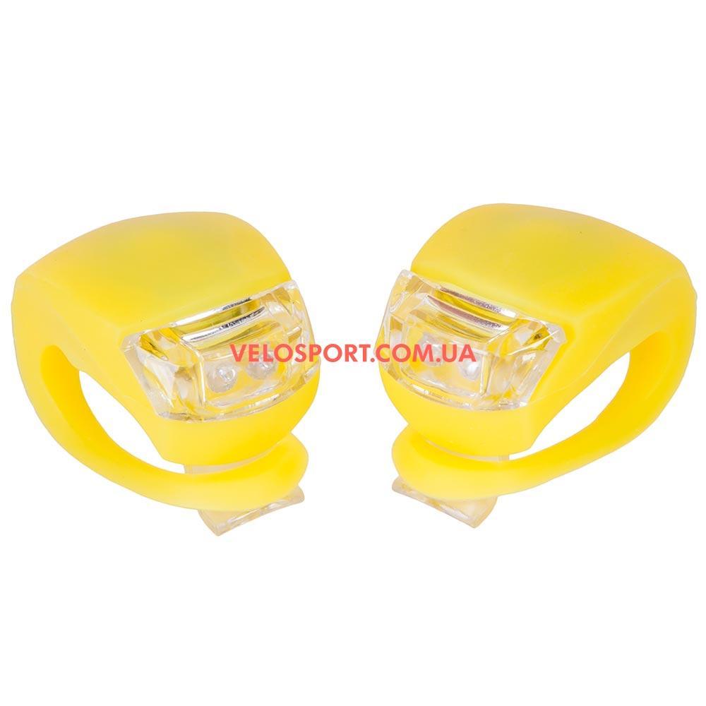Комплект освещение на велосипед BC-RL8001 желтый