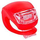 Комплект освітлення на велосипед BC-RL8001 червоний, фото 3
