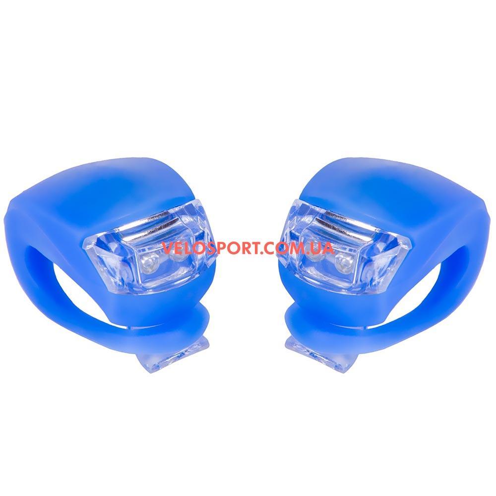 Комплект освещение на велосипед BC-RL8001 синий