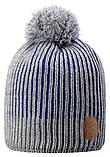 Зимняя шапка-бини для мальчика Reima Bulo 538076-6500. Размеры 48/50, 52/54 и 56/58., фото 2