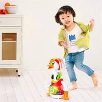 Музыкальная игрушка Танцующий гусь со звуковыми и световыми эффектами для детей от 3 лет