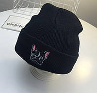 Детская шапка черный