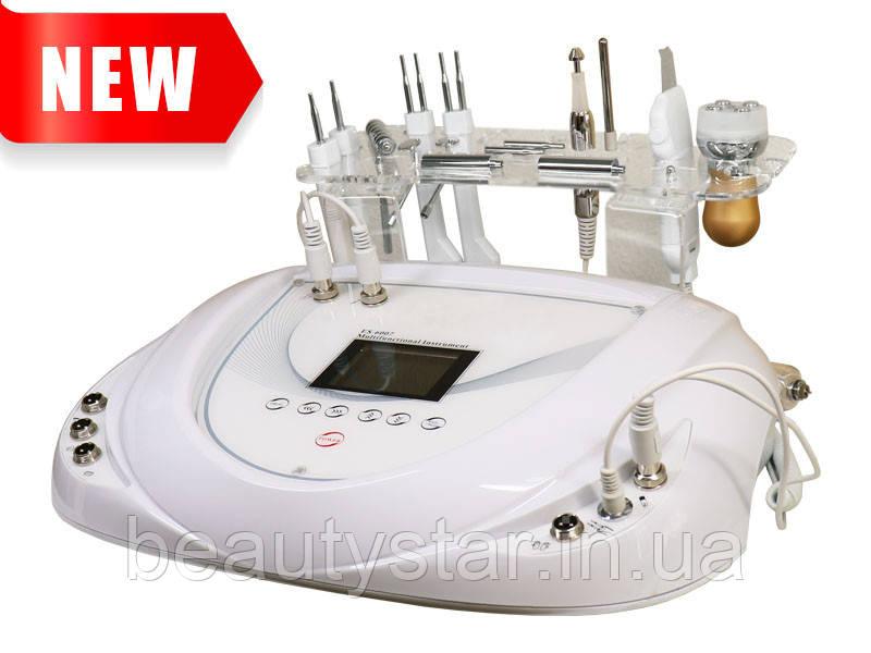 Косметологический аппарат 3-в-1 уз чистка, микротоки, электропорация модель 6003