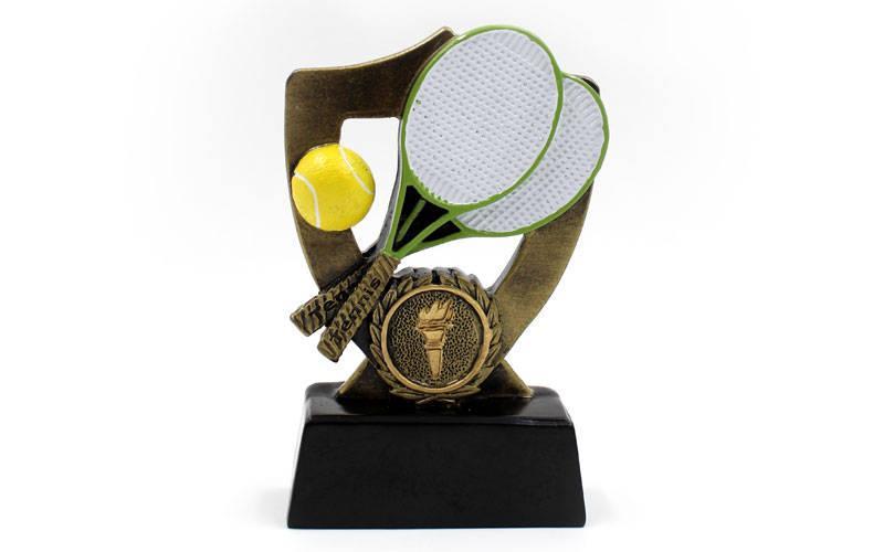 Статуэтка (фигурка) наградная спортивная Большой теннис (р-р 13х8х3 см)