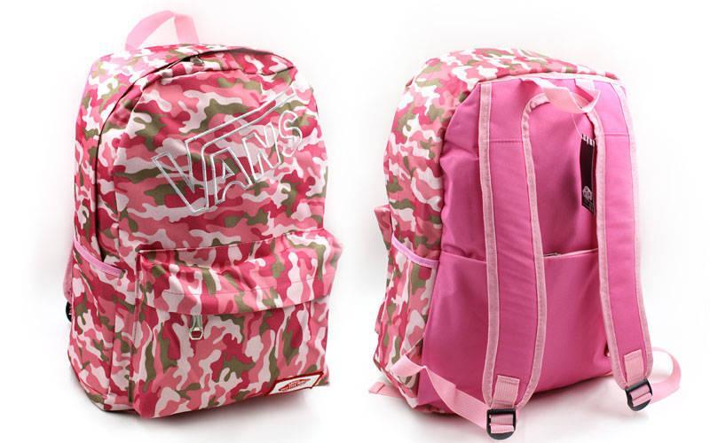 Рюкзак городской VANS (PL, 43х30х13см) Розовый PZ-GA-4971_1