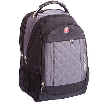 Рюкзак городской SwissGear 20л (PL, 17x28x39см, USB) PZ-028