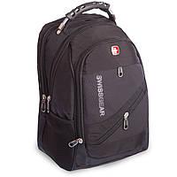 Рюкзак городской SwissGear 20л (PL, 17x28x39см, USB) PZ-8810-M