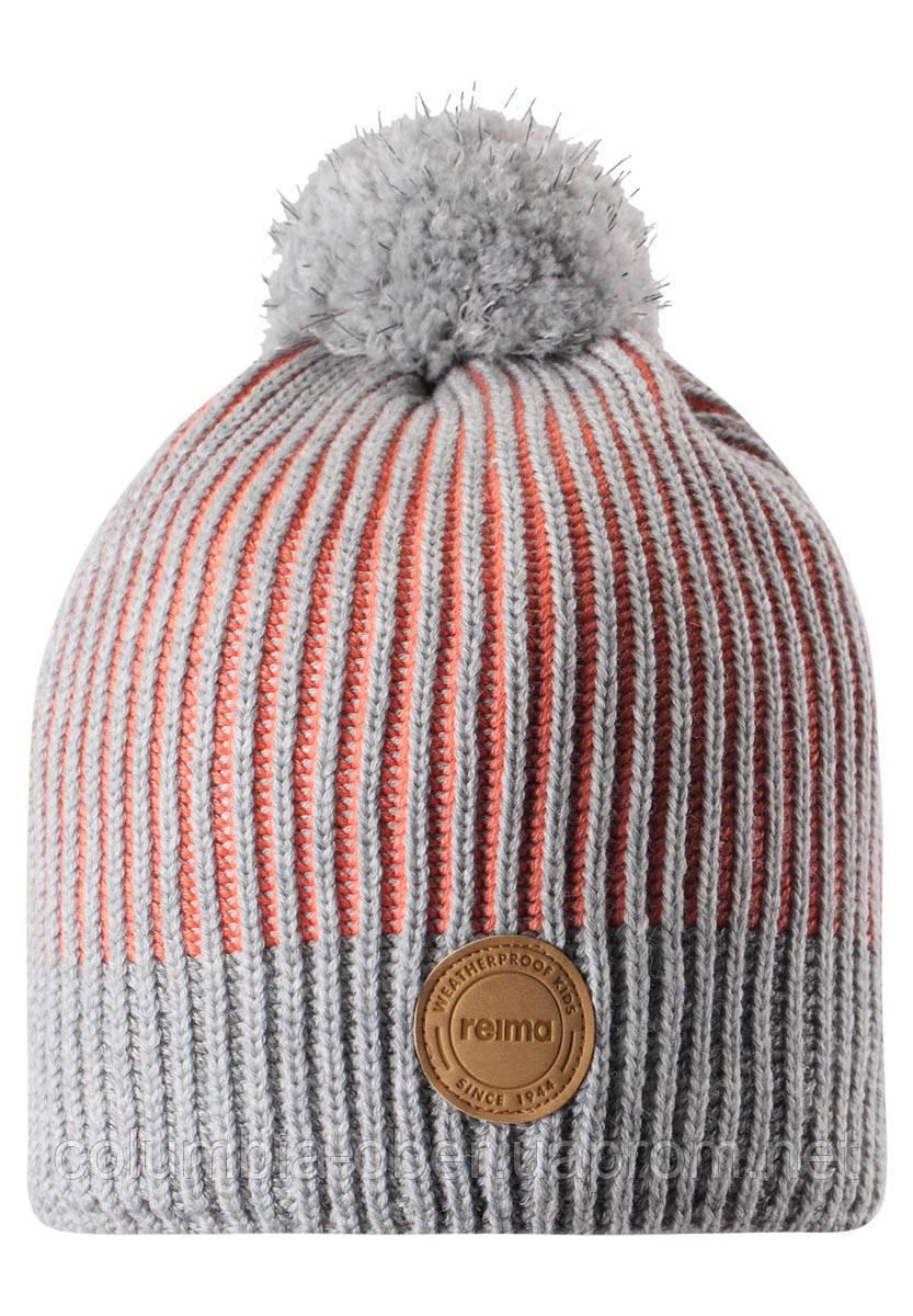 Зимняя шапка-бини для девочки Reima Bulo 538076-3220. Размеры 48/50, 52/54 и 56/58.
