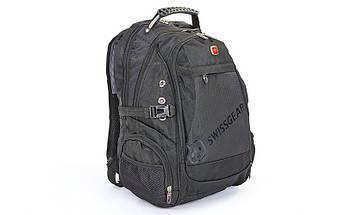 Рюкзак городской VICTOR 35л (PL, р-р 47x31x24см, черный)
