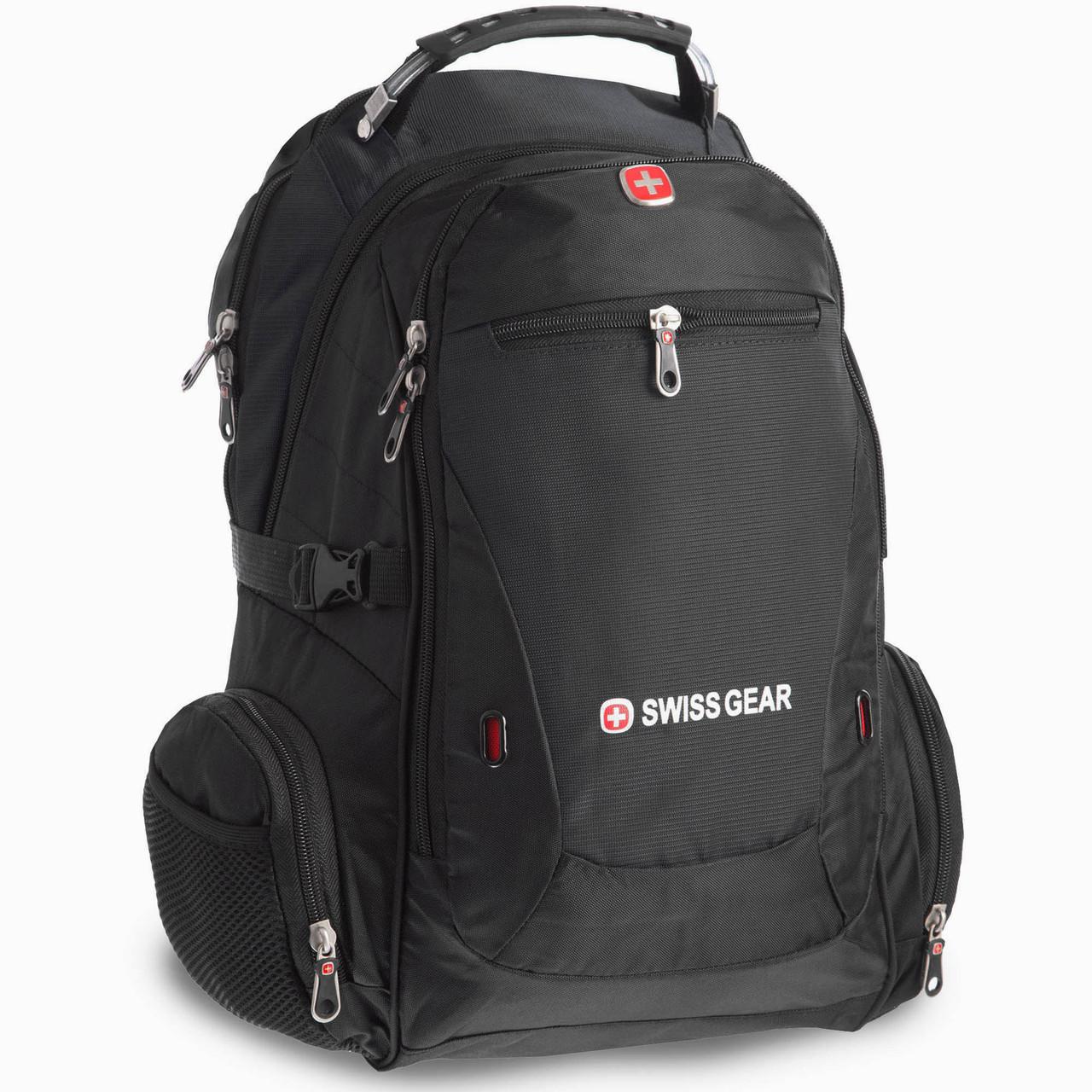 Рюкзак городской SwissGear 35л (PL, 48x30x22см) Черный PZ-1522_1
