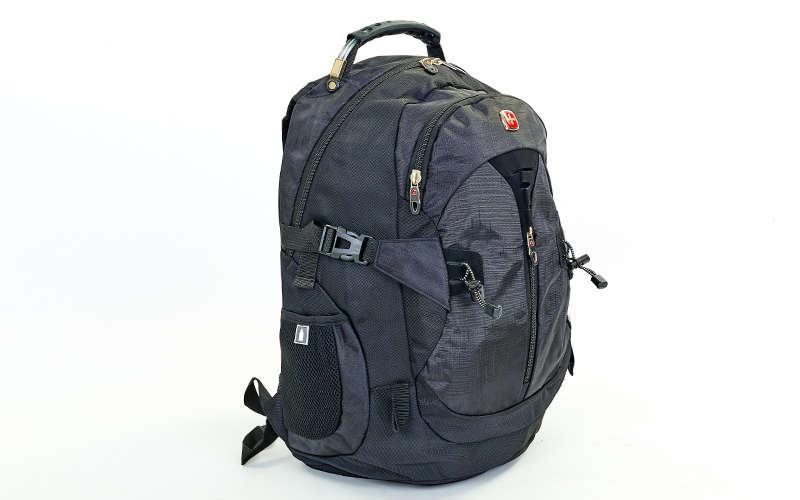 Рюкзак городской SwissGear 35л (PL, 49x33x19см) Черный PZ-7225_1