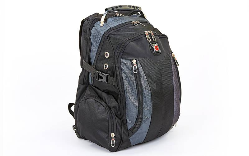 Рюкзак городской SwissGear 35л (PL, 21x31x48см) Серый PZ-7620_1