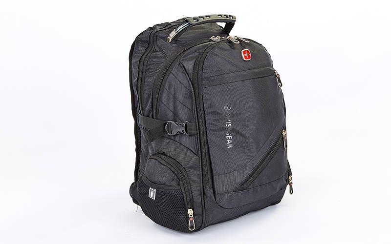 Рюкзак городской SwissGear 35л (PL, 49x30x23см) Черный PZ-8810_1