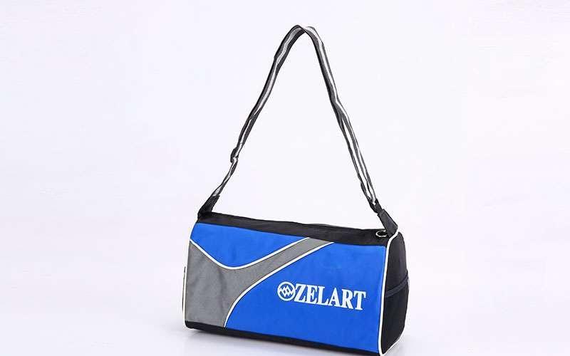 Сумка спортивная Zelart (полиэстер, 39х29х21см) Синий PZ-GA-4124_1