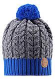 Зимняя шапка-бини для мальчика Reima Pohjola 538077-6501. Размеры 48/50 и 56/58., фото 2