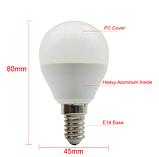 Светодиодная Лампа 8W Е14 шарик 4000K Lemanso LM798, фото 2