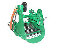 Картофелекопатель Км-5 (Skiff) транспортерный к тяжелым мотоблокам