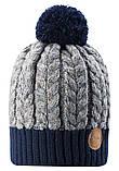 Зимняя шапка-бини для мальчика Reima Pohjola 538077-6981. Размер 48/50., фото 2