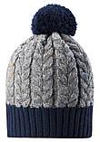 Зимняя шапка-бини для мальчика Reima Pohjola 538077-6981. Размер 48/50., фото 3