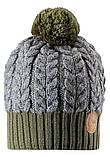 Зимняя шапка-бини для мальчика Reima Pohjola 538077-8930. Размеры 48/50 и 56/58., фото 2