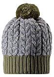 Зимняя шапка-бини для мальчика Reima Pohjola 538077-8930. Размеры 48/50 и 56/58., фото 3