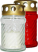 Лампада стеклянная BISPOL №W002(50-1) красные
