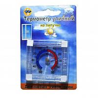 Термометр уличный оконный на липучке квадратный ТКО-120 25шт/уп SMA