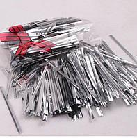 Декоративная проволока-завязка Twist Tie - Серебро