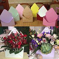 Ящик для цветов и декора - Конверт