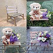 Ящик для цветов и декора - Скамейка под дерево
