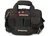 Вместительная сумка для инструментов Workpro