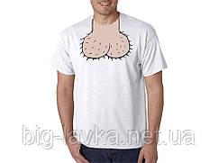 Мужская футболка с оригинальным принтом ХL
