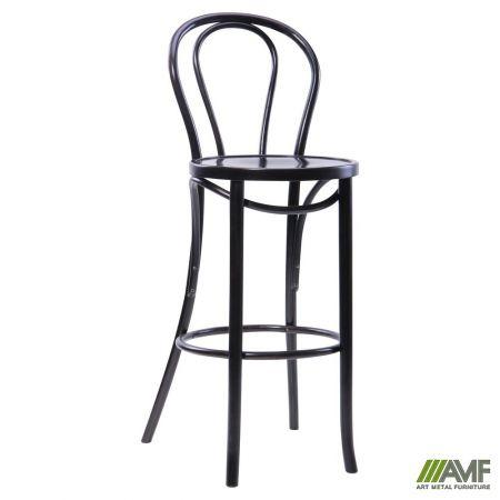 Барный стул Венский-1 Хокер, массив бука, цвет Венге AMF