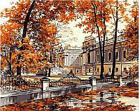 Картины по номерам 40×50 см. Мариинский дворец Художник Сергей Брандт