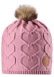 Зимняя шапка-бини для девочки Reima Knitt 538082-4100. Размеры 48/50, 52/54 и 56/58., фото 2