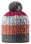 Зимняя шапка-бини для девочки Reima Spinn 538083-4651. Размеры 48/50, 52/54 и 56/58., фото 2