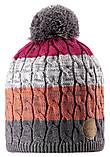 Зимняя шапка-бини для девочки Reima Spinn 538083-4651. Размеры 48/50, 52/54 и 56/58., фото 3