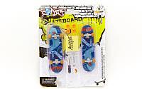 Фингерборд-мини скейт (2 фингерборда, 4зап.колеса, 1ключ, 1отвер, 2гайки, пластик, металл)