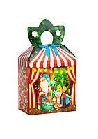 """Новогодняя подарочная коробочка для конфет и сладостей 400-600гр """"Лускунчик"""" 100шт/уп"""