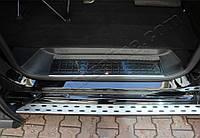 Peugeot Expert 2017↗ Накладки на пороги OmsaLine (4 шт, нерж.)