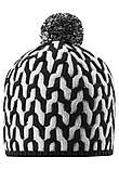 Зимняя шапка-бини для мальчика Reima Sneeuw 538085-9991. Размеры 48/50, 52/54 и 56/58., фото 3