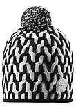 Зимняя шапка-бини для мальчика Reima Sneeuw 538085-9991. Размеры 48/50, 52/54 и 56/58., фото 2