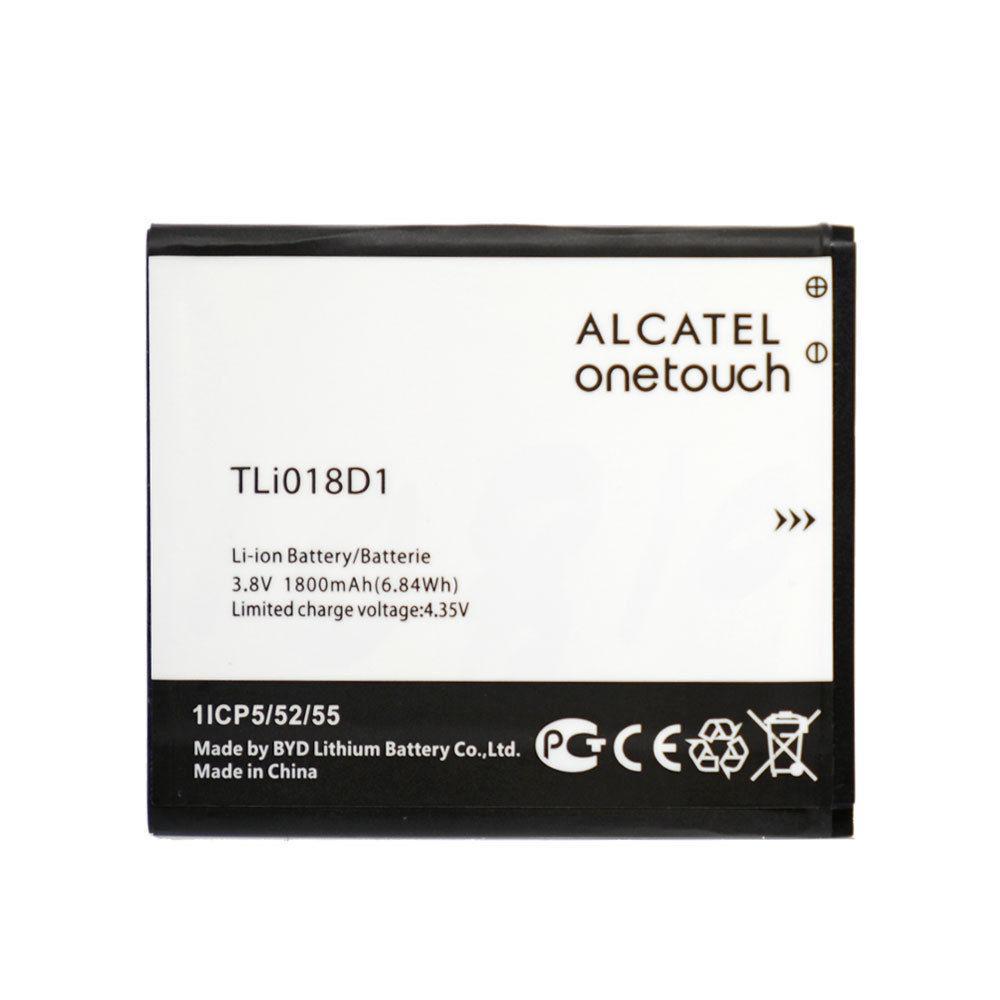 Аккумулятор акб ориг. к-во Alcatel TLi018D1 5038D One Touch POP D5   5015D   5115X, 1600mAh