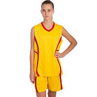 Форма баскетбольная женская SP-Sport Atlanta (полиэстер, S-L(44-50)) Желтый M (46-48) PZ-CO-1101_1