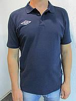Мужская футболка Umbrо 61363 темно синяя код 054 в
